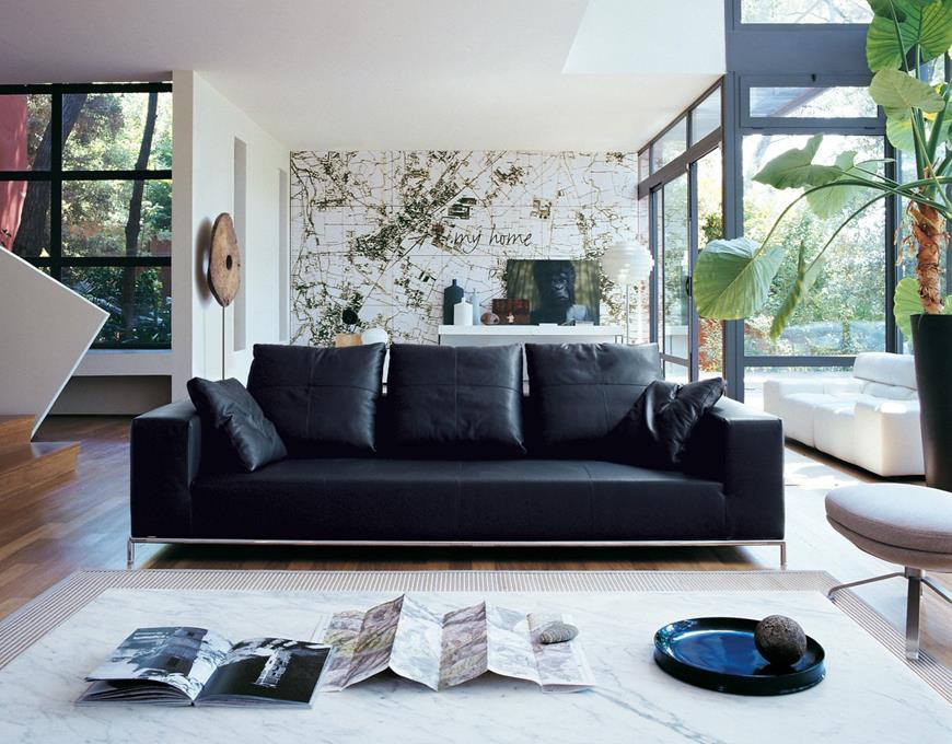 Black sofa creates ultimate design at home photos Black sofa creates ultimate design at home Black sofa creates ultimate design at home Black sofa creates ultimate design at home photos