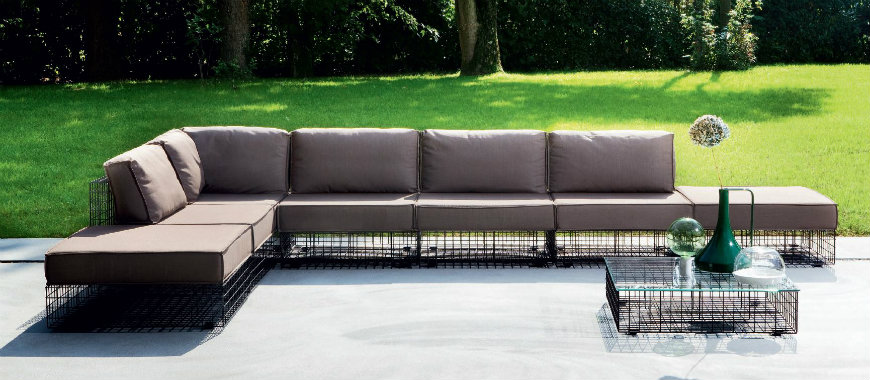 How to put Modern Sofas at home and outdoor modern hospitality