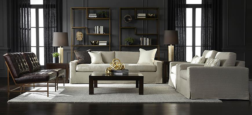 Mitchell Gold Bob Williams are proud of their sofas American design company