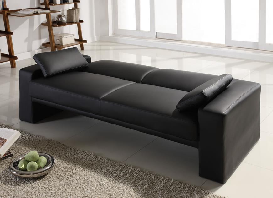 Modern Sofas Black sofa creates ultimate design at home faux leather futon Black sofa creates ultimate design at home Black sofa creates ultimate design at home Modern Sofas Black sofa creates ultimate design at home faux leather futon