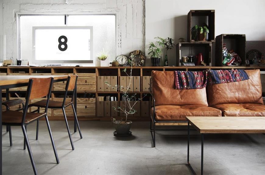 Modern Sofas Hot Trends with Vintage Sofa that You'll Love in your Home rustic shelves