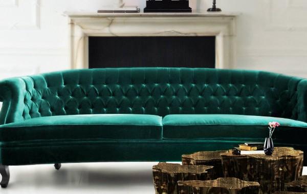 Living Room Inspiration: Chesterfield Sofa