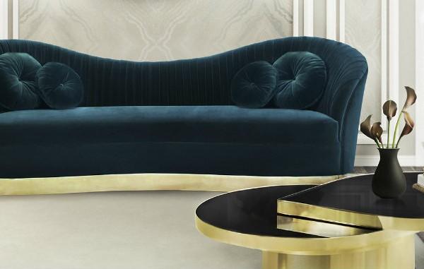 Living Room Inspiration: Linen Sofas Living Room Inspiration: Linen Sofas kelly sofa reve mirror tears cocktail table tresor stool koket projects 600x381