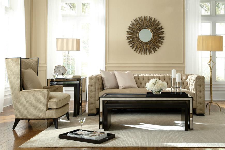 living room inspiration tufted sofas chesterfield Sofa Living Room Inspiration: Chesterfield Sofa living room inspiration tufted sofas