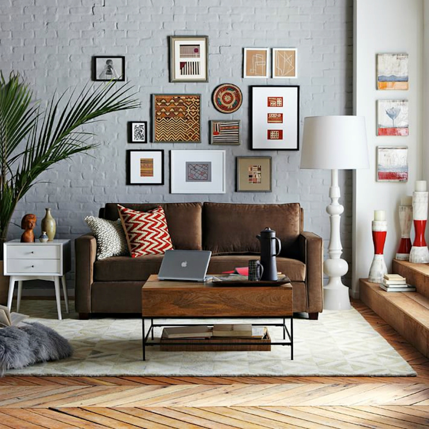 brown leather sofa Living Room Inspiration: Brown Leather Sofa Living Room Inspiration: Brown Leather Sofa tan leather sofa 4