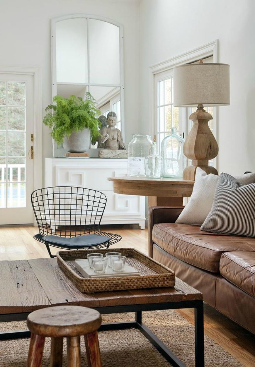 brown leather sofa Living Room Inspiration: Brown Leather Sofa Living Room Inspiration: Brown Leather Sofa tan leather sofa 8