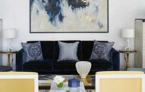 Modern Sofas In Living Room Projects ByDavid Collins Studio