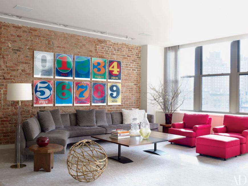 modern sofas Beautiful Modern Sofas In Celebrity Homes Ferrell modern sofas 1