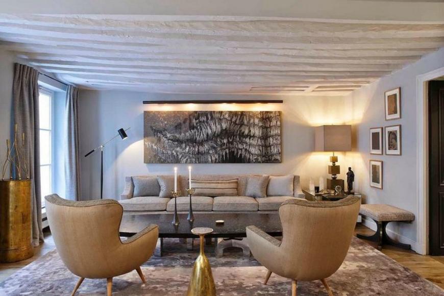 Jean Louis Deniot modern sofas