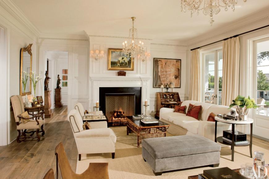 modern sofas Beautiful Modern Sofas In Celebrity Homes Rob Lowe 1 1