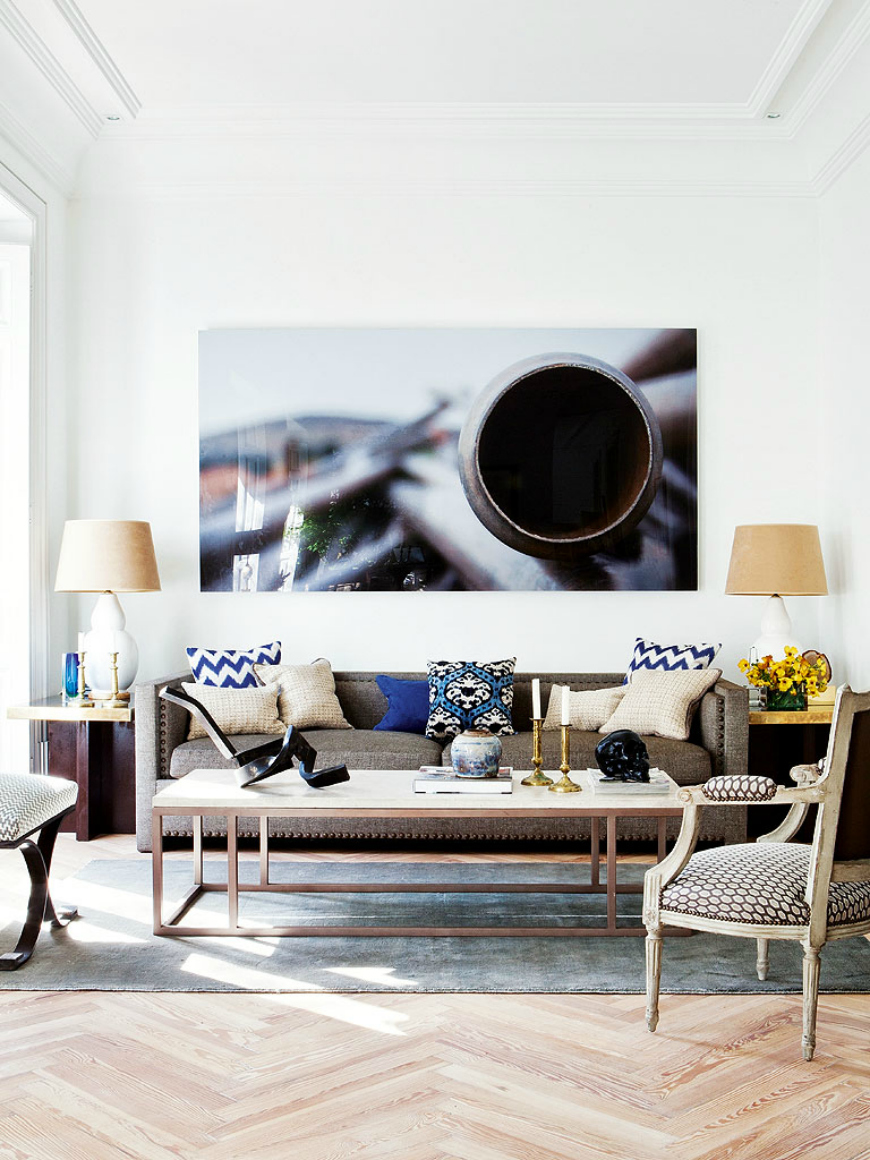 living room furniture sets: apartment by Miguel García de Valcárcel