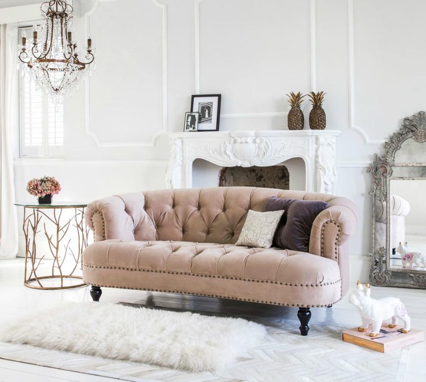 pastel sofas for spring