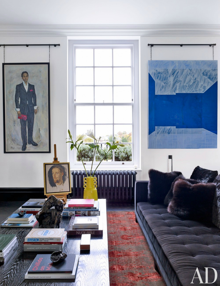 10 Dark And Moody Modern Sofas That Will Inspire You