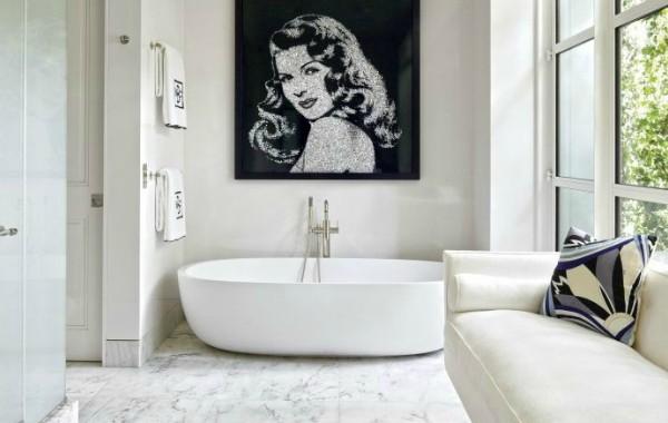 7 Wonderful Modern Sofas For Big, Glamorous Bathrooms