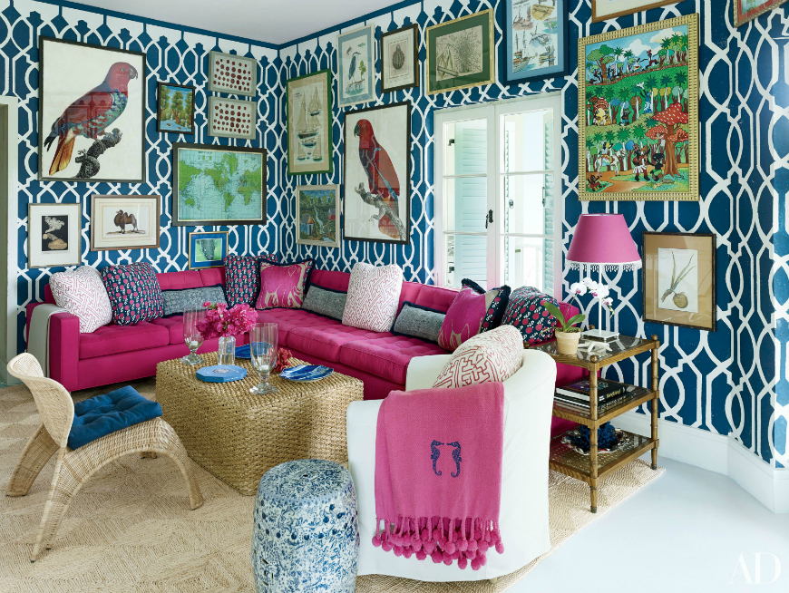 modern sofas Modern Sofas In Living Room Projects ByMiles Redd Reasons To Fall In Love With A Pink Sofa 11