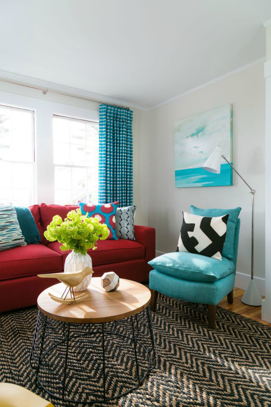 15 Ideas That Will Make You Fall In Love With A Red Sofa
