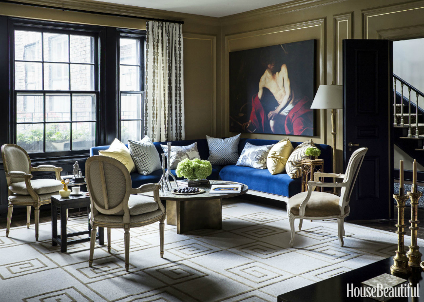 30 Smashing Ways To Style A Blue Sofa In Your Living Room Set Modern Sofas