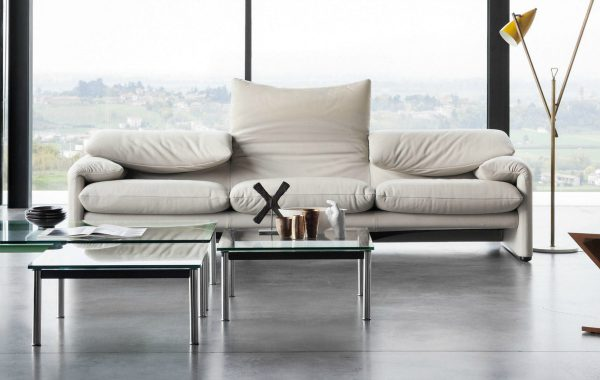 Incredible Modern Sofas By Cassina For A Contemporary Home