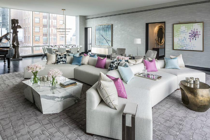 How To Create An Elegant Lounge Space With Neutral Sectional Sofas Sectional Sofas How To Create An Elegant Lounge Space With Neutral Sectional Sofas Modern Sofas In Living Room Projects By DrakeAnderson 1