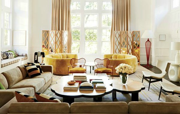 Modern Sofas In Living Room Projects By India Mahdavi