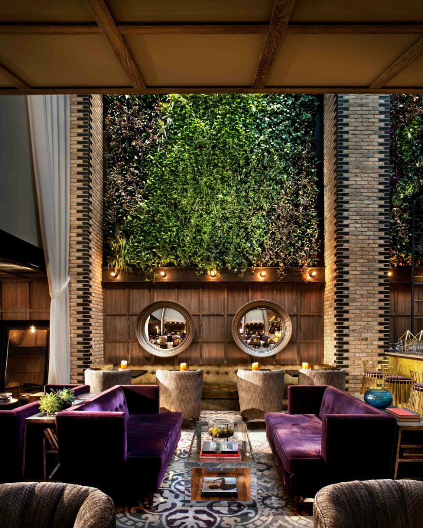 modern sofas The Most Stunning Modern Sofas In Hotel Interiors Thompson Hotel 2
