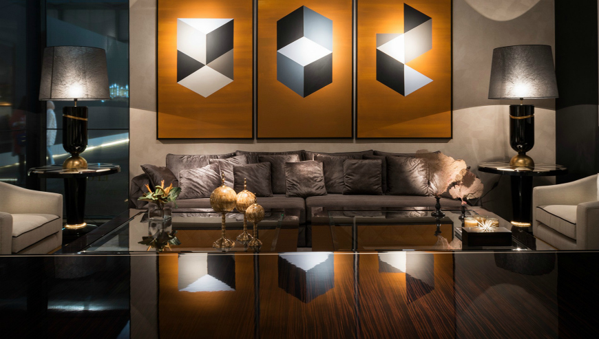 Top Modern Sofas From Maison et Objet Americas Exhibitors