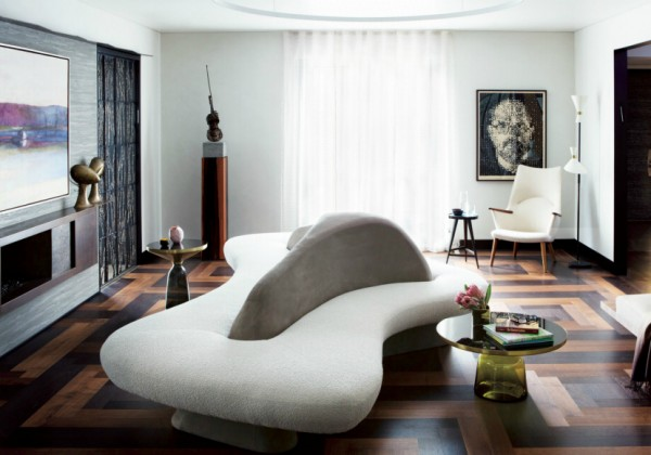 Unique Modern Sofas By Vladimir Kagan That Completely Steal The Scene