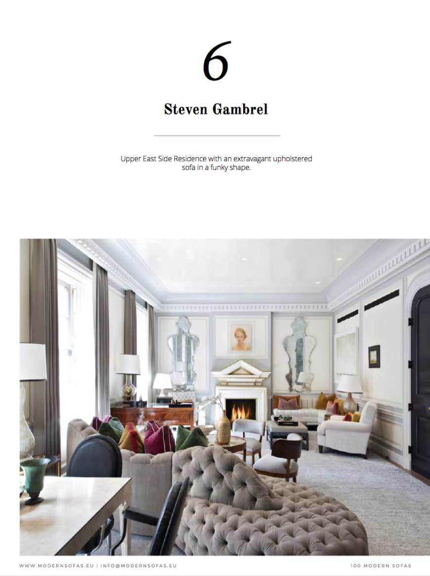 100 Modern Sofas – The Ultimate E-Book To Help You Pick & Style A Sofa