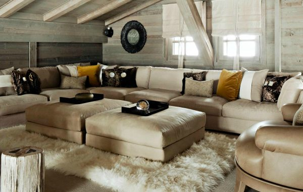 Elegant Neutral Sofas In Living Room Projects By Kelly Hoppen