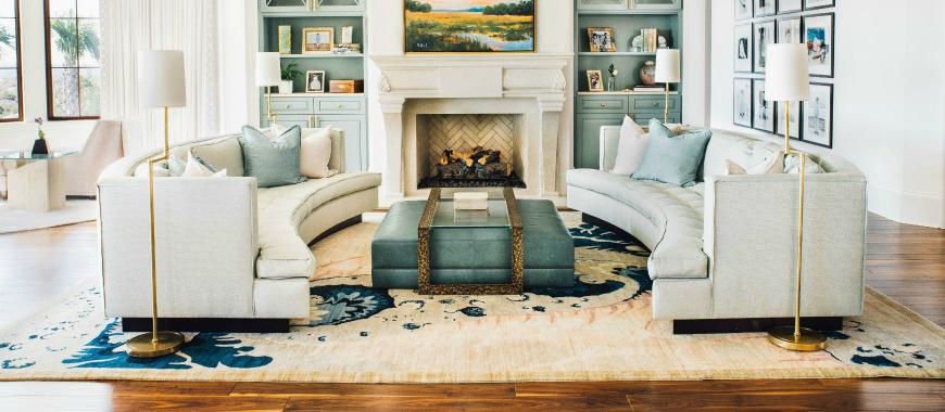 10 Luxurious Modern Sofas In Incredible Beach Houses