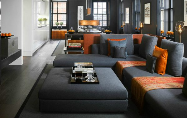 Contemporary Modern Sofas In Living Room Projects By Woods Bagot NYC