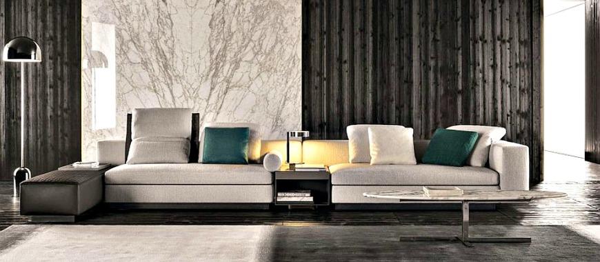 Top 10 Amazing Minotti Living Room Sofa Sets