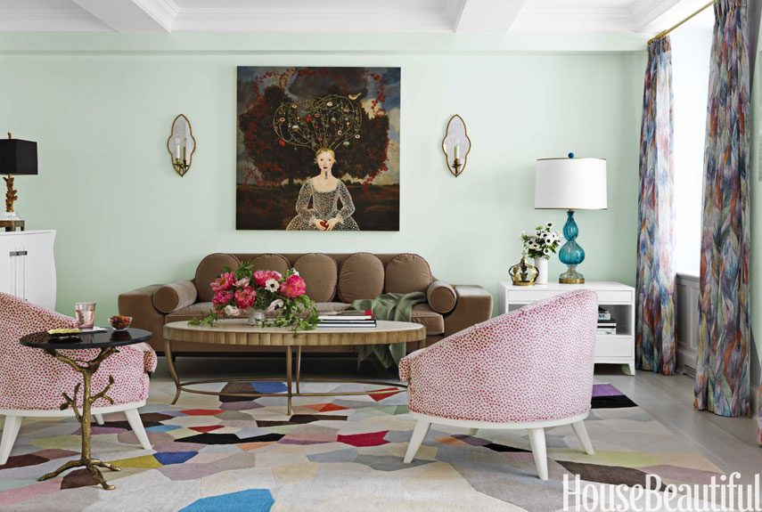 How To Style Art Above Your Living Room Sofa