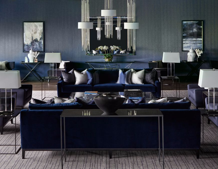 Refined Modern Sofas In Interiors Designed By Katharine Pooley
