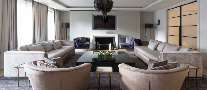Spectacular Living Room Ideas By ASH Design