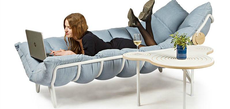 An Impressive Lounge Sofa That Wraps Around You