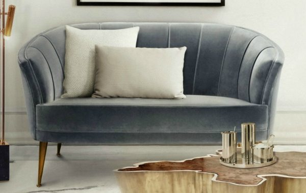How To Style A Sofa In A Small Yet Chic Living Room Set