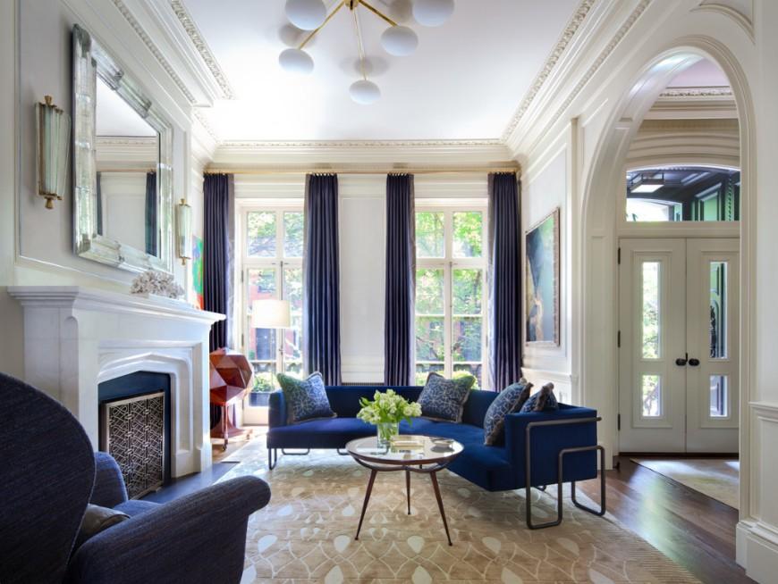 Ravishing Modern Sofas In Interiors By Shawn Henderson
