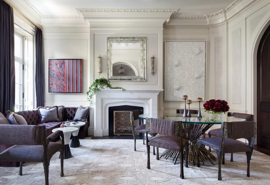 Ravishing Sofas In Interiors By Shawn Henderson