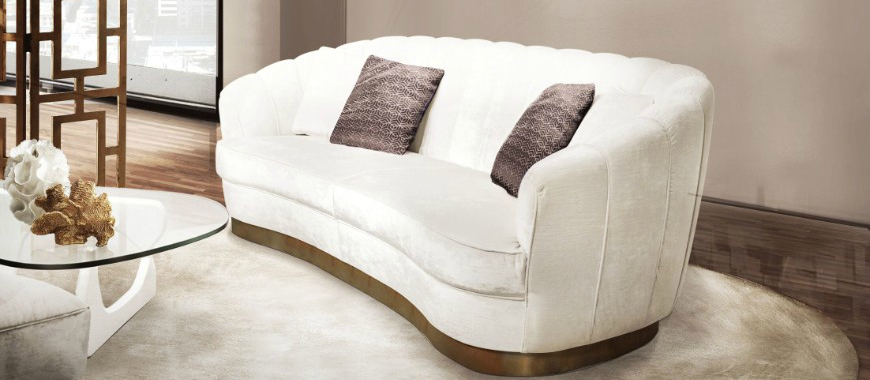 9 Ways To Brighten Up Your Living Room Set With A White Sofa