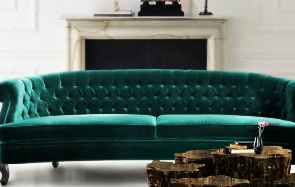 How To Style Your Living Room Sofa Around A Fireplace