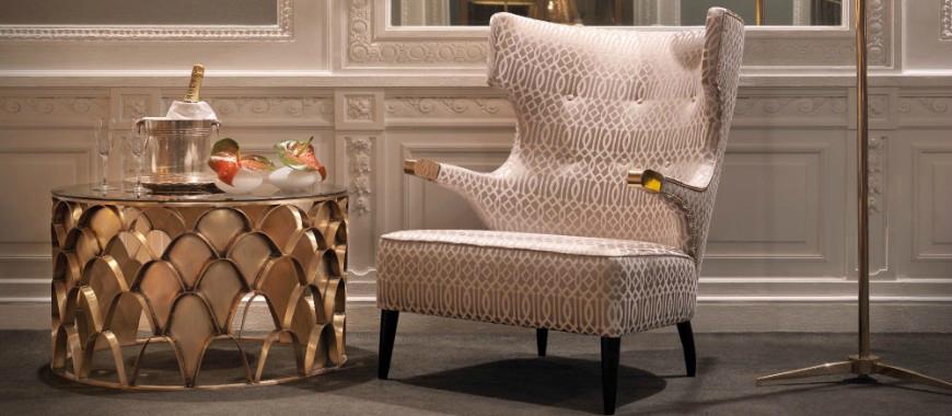 Modern Sofas: 5 Luxury Fabric Brands Exhibiting At Paris Deco Off