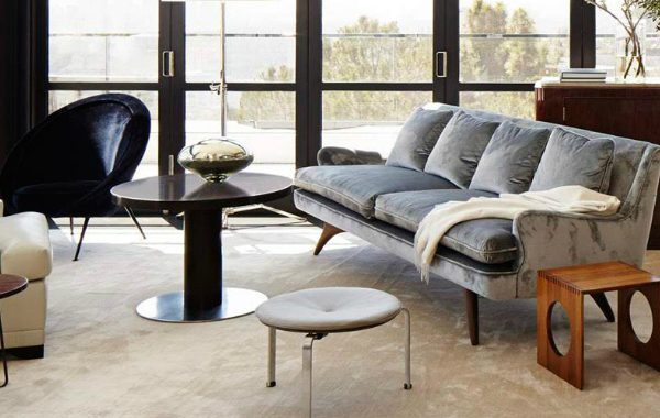 7 Striking Modern Sofas In Interiors By Dan Fink Studio