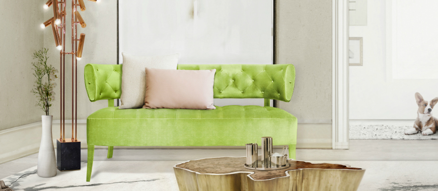 The Trendiest Modern Sofas According To Pantone's Spring Color Report