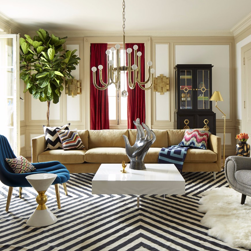 9 Bold Modern Chairs To Complement Your Sofa