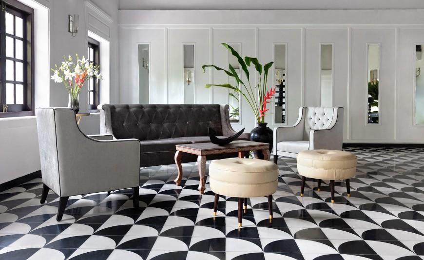 10 Remarkable Velvet Sofas In Hotel Interior Design Projects