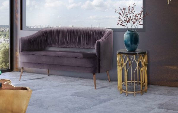 9 Stunning Modern Sofas With Intricate Upholstered Details