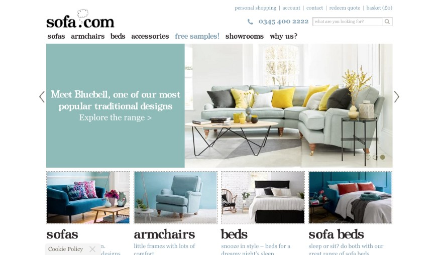 Top 5 Online Furniture Stores To Buy Luxury Modern Sofas