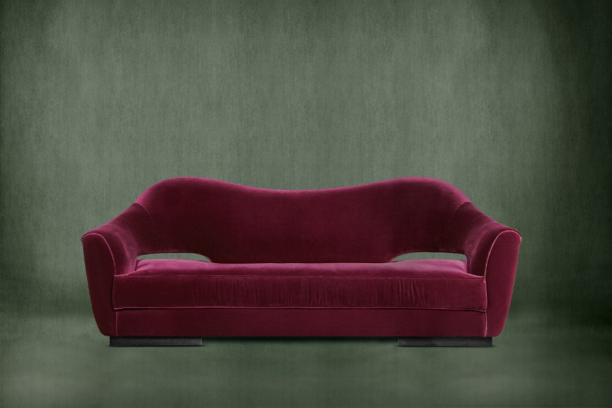 Add A Pop Of Color To Your Living Room Set With These Velvet Sofas