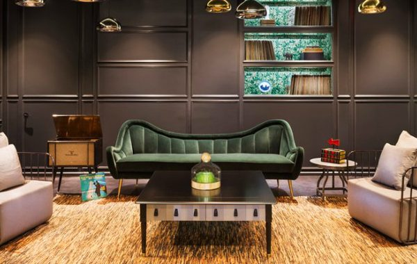 Modern Sofas In Incredible Hospitality Design Projects